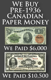 Value of Bank Notes from The Bank of Canada | Canadian Currency