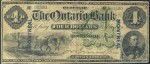 Value of Old Banknotes from The Ontario Bank of Bowmanville, Canada