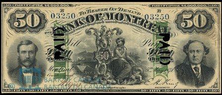 1871 bank montreal 50