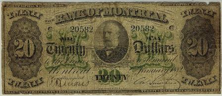 1882 bank montreal 20