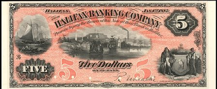 1887 halifax bank note