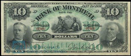 1891 bank montreal 10