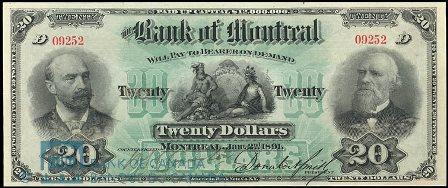 1891 bank montreal 20