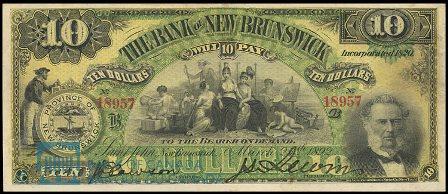1892 10 bank NB