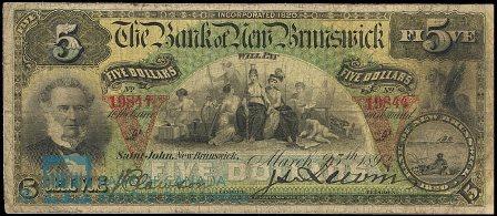 1892 5 bank NB