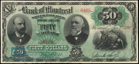 1892 bank montreal 50