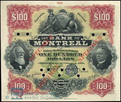 1903 bank montreal 100
