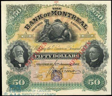 1903 bank montreal 50