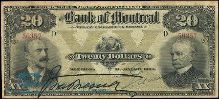 1904 bank montreal 20
