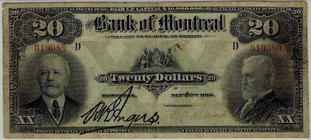 1912 bank montreal 20