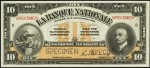 Value of Old Banknotes from La Banque Nationale in Quebec City, Canada