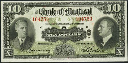 1938 bank montreal 10