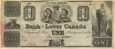 Bank of Lower Canada 1