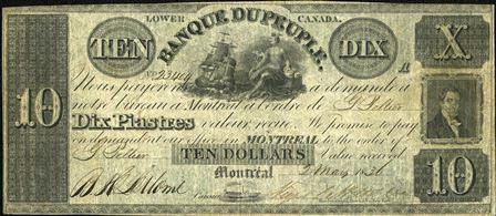 Banque Du Peuple 1836