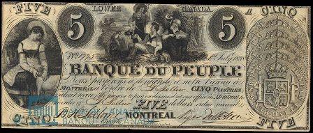 Banque Du Peuple 1838
