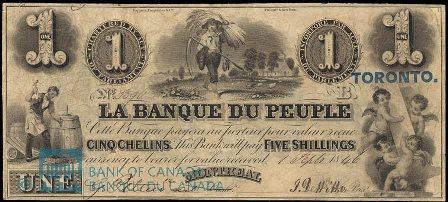 Banque Du Peuple 1846