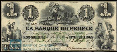 Banque Du Peuple 1870