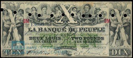 Banque Du Peuple 1882