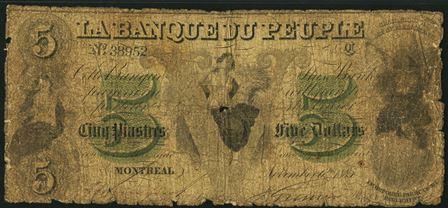 Banque Du Peuple 1885