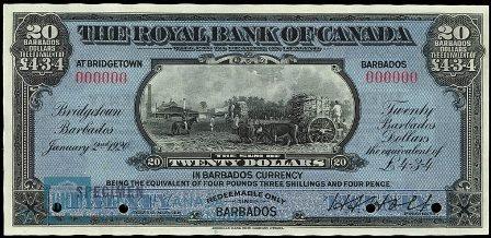 Barbados 1920 20