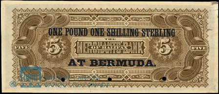 Bermuda Bank note