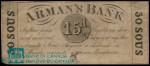 Value of Old Banknotes from The Arman's Bank of Montreal, Canada