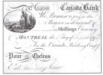 Value of Old Banknotes from The Canada Bank of Montreal
