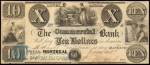 Value of Old Banknotes from The Commercial Bank in Montreal, Canada
