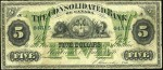 Value of Old Banknotes from The Consolidated Bank of Canada in Montreal