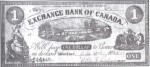 Value of Old Banknotes from The Exchange Bank of Canada in Windsor