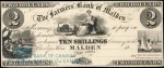Value of Old Banknotes from The Farmers' Bank of Malden, Canada