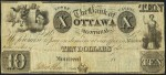 Value of Old Banknotes from The Bank of Ottawa in Montreal, Canada