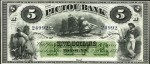 Value of Old Banknotes from The Pictou Bank of Nova Scotia, Canada