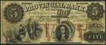 Value of Old Banknotes from The Provincial Bank of Canada in Stanstead