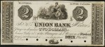 Value of Old Banknotes from The Union Bank of Montreal, Canada