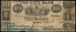 Value of Old Banknotes from The City Bank of Montreal, Canada