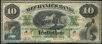 Value of Old Banknotes from The Mechanics Bank of Montreal, Canada