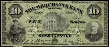 Merchants Bank 1886