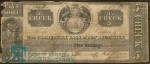 Value of Old Banknotes from The Commercial Bank of New Brunswick in St. John, Canada