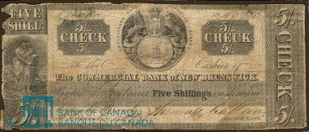 Miramichi Bank Note