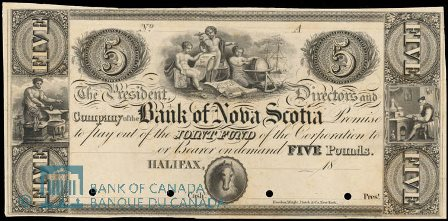 The Bank of Nova Scotia in Halifax Banknote Values | Canadian Currency