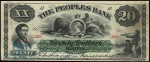Value of Old Banknotes from The Peoples Bank of Halifax Nova Scotia, Canada