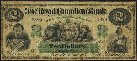 Royal Canadian Bank 1865 5