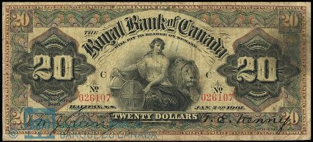 Royal canada 1901 20