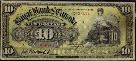 Royal canada 1909 10