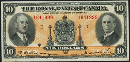 Royal canada 1935 10