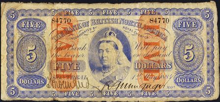 bank british north america 1884