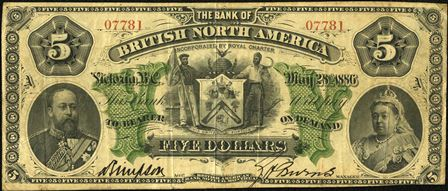 bank british north america 1886 5