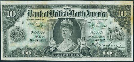 bank british north america 1911 10