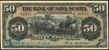 bank of nova scotia 50